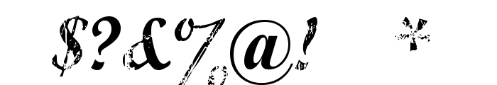 Marcelle Script Font OTHER CHARS