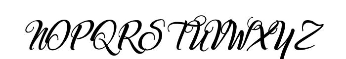 Marchand de Venise-Italic Font UPPERCASE