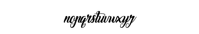 Marchand de Venise-Italic Font LOWERCASE