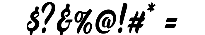 Marchelina Script by Cotbada Studio Font OTHER CHARS