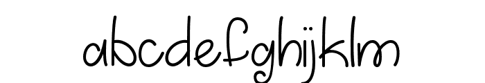 MarchintoSpring Font LOWERCASE