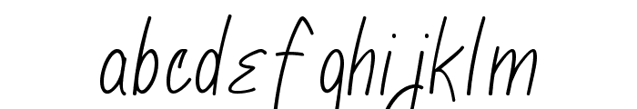 Marcie Font LOWERCASE