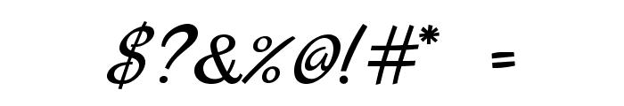 MarckScript-Regular Font OTHER CHARS