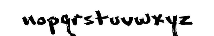 Marcusia Font LOWERCASE