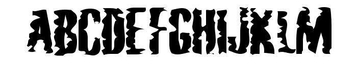 Mardi Gross  Drunktype Font UPPERCASE
