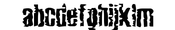 Mardi Gross  Drunktype Font LOWERCASE