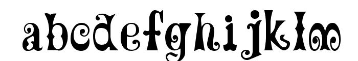 MardiGras Font LOWERCASE