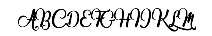 Marguaritas Font UPPERCASE