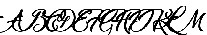 Marguerite Font UPPERCASE