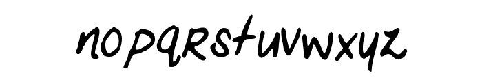 MariasHandwriting Font LOWERCASE