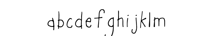 Marie-Alternate Font LOWERCASE