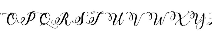 Marigold Font UPPERCASE