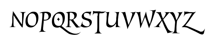 MarigoldWild Font UPPERCASE