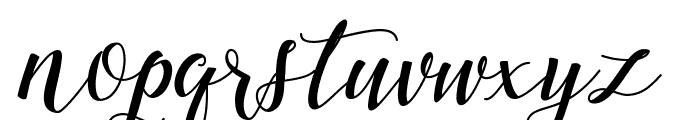Marigold Font LOWERCASE