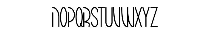Mariko Chan Thin Font UPPERCASE