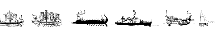 MarineBats Font OTHER CHARS