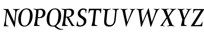 MarinumBreezed Font UPPERCASE