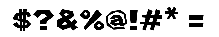 Mario Kart Wii Placement Regular Font OTHER CHARS