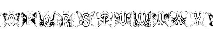 Mariposa Font UPPERCASE