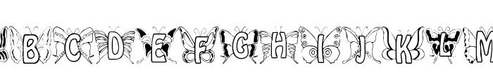 Mariposa Font LOWERCASE
