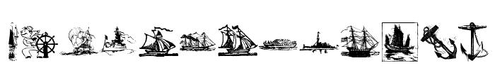 MaritimK Font UPPERCASE