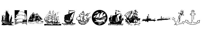MaritimK Font LOWERCASE
