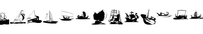 Maritime Font UPPERCASE