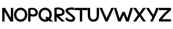 MaritimeSans ExtraBold Font UPPERCASE