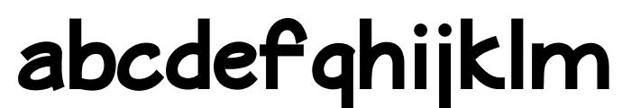 MaritimeSans ExtraBold Font LOWERCASE