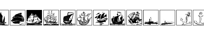 MaritimeSquares Font LOWERCASE