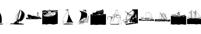 Maritime Font LOWERCASE