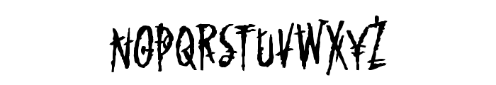 Mark of the Beast BB Font UPPERCASE