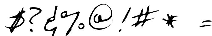 Marka Regular Font OTHER CHARS