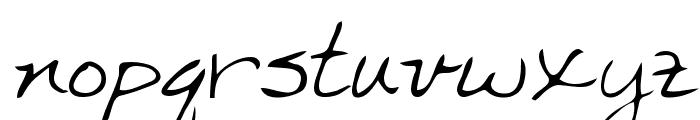Marka Regular Font LOWERCASE