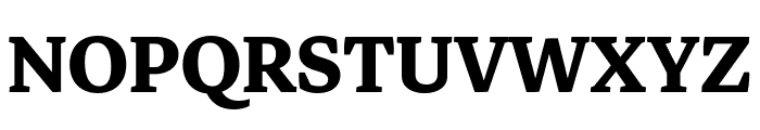 Markazi Text Bold Font UPPERCASE