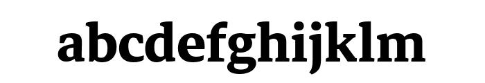 Markazi Text Bold Font LOWERCASE
