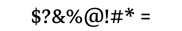 Markazi Text Regular Font OTHER CHARS