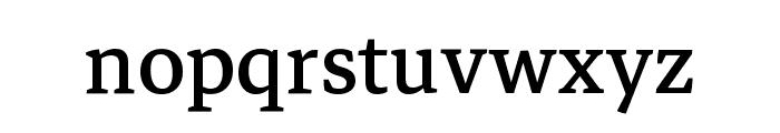 Markazi Text Regular Font LOWERCASE