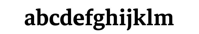Markazi Text SemiBold Font LOWERCASE