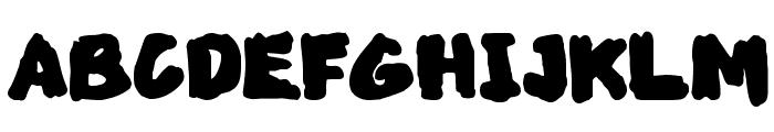 MarkedUp Font UPPERCASE