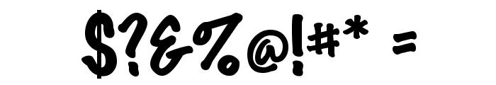 Marker Felt Font OTHER CHARS
