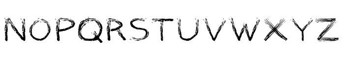 Marker Font Font UPPERCASE