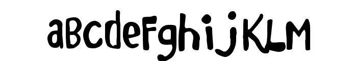 Marker Monkey FW Font LOWERCASE