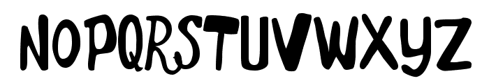Marker Monkey Font UPPERCASE