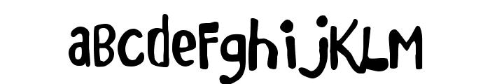 Marker Monkey Font LOWERCASE