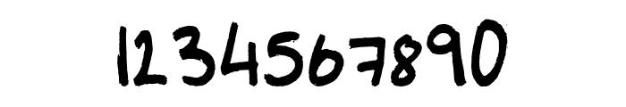 Marker Regular Font OTHER CHARS