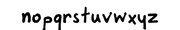 Marker Regular Font LOWERCASE