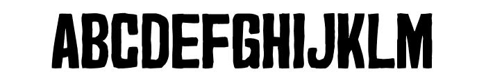 Marker2 Font UPPERCASE