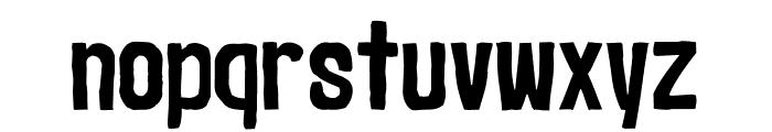 Marker2 Font LOWERCASE