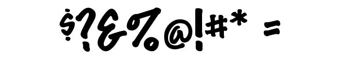 MarkerFeltThin-Plain Regular Font OTHER CHARS
